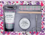 Body kollektion lavendel sweet pea manicure geschenkset