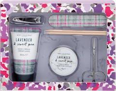 Body Collectie Lavendel & Sweet Pea Manicure Cadeauset