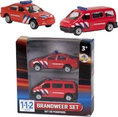 112 Brandweer Set 2 Dlg.