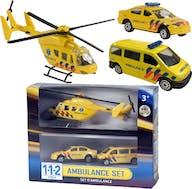 112 Ambulance Speelset 3 Dlg.