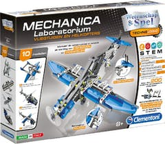 Clementoni Technologic Mechanica Vliegtuig 2 in 1