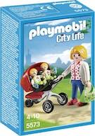 Playmobil 5573 City Life Tweeling Kinderwagen