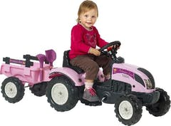 Falk Tractor Pink + Acc. Set 2/5