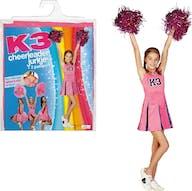 K3 Verkleedjurk cheerleader 6-8jr