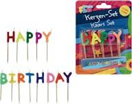 Kaarsen Happy Birthday