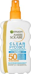 Ambre Solaire Clear Protect Refresh F50 Zonnespray