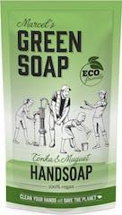 Marcel's Green Soap Handzeep 500 ml Tonka & Muguet Navul Stazak