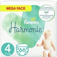 Pampers Harmonie Maat 4 - 66 Luiers