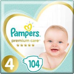 Pampers Premium Care Maat 4 - 104 Luiers