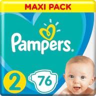 Pampers Active New Baby Luiers Maat 2 - 76 Luiers