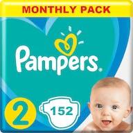 Pampers Active New Baby Luiers Maat 2 - 152 Luiers