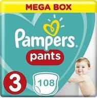 Pampers Baby Dry Pants Maat 3 - 108 Luierbroekjes