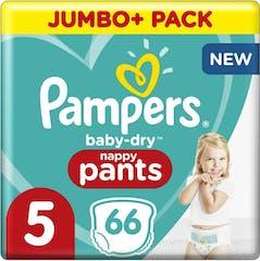 Pampers Baby Dry Pants Maat 5 - 66 luierbroekjes