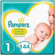 Pampers Premium Protection New Baby Windeln Große 1 - 144 Windeln Monatsbox