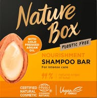 Nature Box Shampoo Bar 85 gram Argan Oil