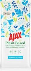 Ajax Plantaardige Reinigingsdoekjes Badkamer en Toilet 100 stuks