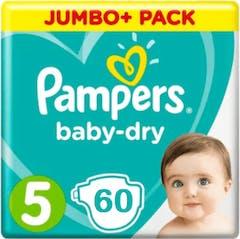 Pampers Baby Dry Maat 5 - 60 Luiers