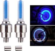 Fahrradventil licht blau 2 x