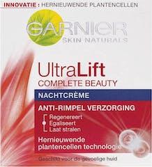 Garnier Nachtcrème 50 ml Skinactive Skin Naturals Ultralift Anti-Rimpel