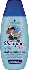 Schwarzkopf Piraat Shampoo & Douche 250ml Kids