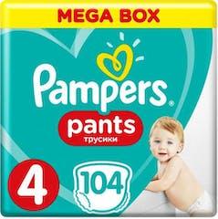 Pampers Baby Dry Pants Maat 4 - 104 Luierbroekjes Maandbox