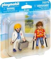 Playmobil 70079 Duopack Dokter en Patiënt
