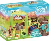 Playmobil 70120 Spirit paardenbox