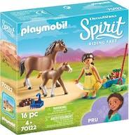 Playmobil 70122 Spirit Paard En Veulen