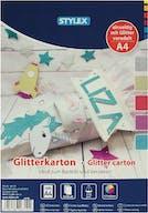 Hobby Glitter Karton A4 10st