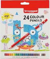 Bruynzeel Kleurpotloden 24st 4+