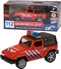 112 Brandweer 4x4 auto met licht/geluid