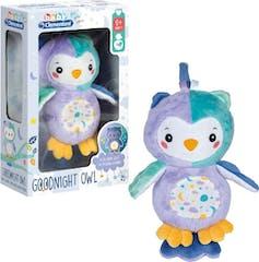 Clementoni Baby Knuffel Licht Goodnight Owl