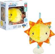 Clementoni Baby Knuffel Muziek Soft Sun
