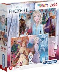 Clementoni Frozen 2 Puzzel 2x20st