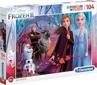 Clementoni Frozen 2 Puzzel 104st