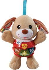 VTech Baby Knuffel en Speel Puppy bruin