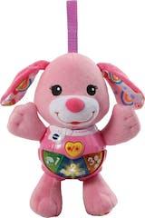 VTech Baby Knuffel en Speel Puppy roze