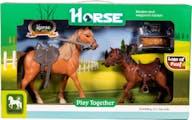 Horse Paard met Veulen
