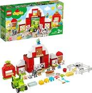 Lego 10952 Duplo Barn, Tractor And Farm Animal Car
