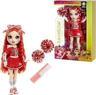 Rainbow High Cheer Doll Ruby Anderson Red
