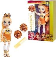 Rainbow High Cheer Doll Popy Rowan Orange
