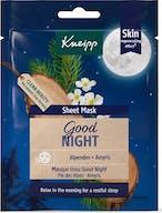 Kneipp Good Night Sheet Gezichtmasker