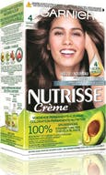 Garnier Nutrisse Permanente Haarkleuring  4 Middenbruin