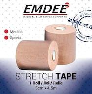 Emdee Basictape 5cm* 4,5m Huidskleur