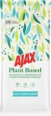 Ajax Plantaardige Reinigingsdoekjes Multi-oppervlakken 100 stuks