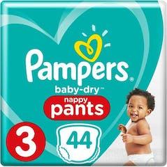 Pampers Baby Dry Pants Große 3 - 44 Windelhosen