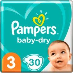 Pampers Baby Dry Große 3 - 30 windeln