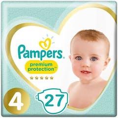 Pampers Premium Protection Maat 4 - 27 Luiers