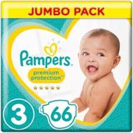 Pampers Premium Protection Windeln Große 3 - 66 Windeln Vorteilpackung