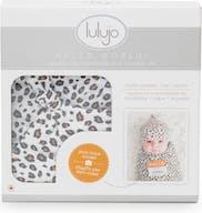 Lulujo Hello World Inbakerdoek - Met Muts - Luipaard
